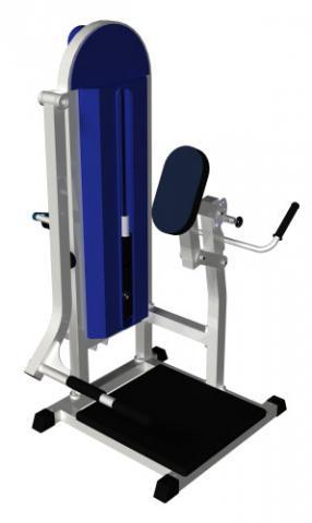 Тренажёр для ягодичных мышц в наклоне MB Barbell MB 3.07 N