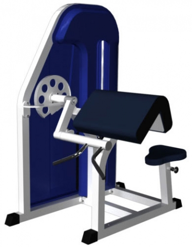 Бицепс - машина MB Barbell MB 3.11 N
