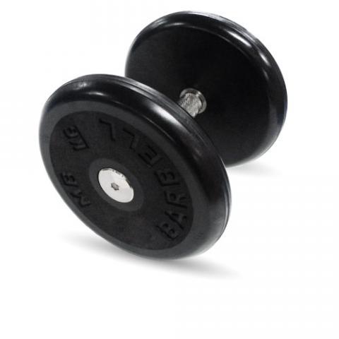 """Гантель черная """"Классик"""" 12 кг MB Barbell MB-FdbEM-BN12"""