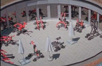Необычная площадка StreetBarbell в Швейцарии