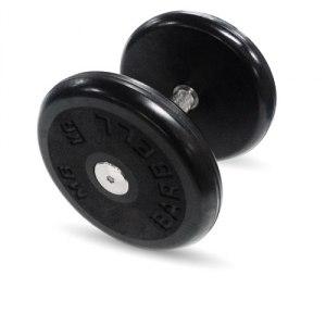 """Гантель черная """"Классик"""" 9 кг MB Barbell MB-FdbEM-B9"""
