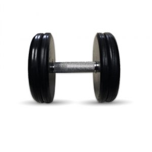 """Гантель черная """"Классик"""" 17 кг MB Barbell MB-FdbEM-B17"""