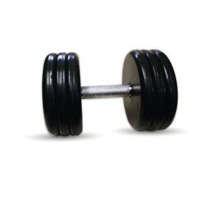 """Гантель черная """"Классик"""" 31 кг MB Barbell MB-FdbEM-B31"""