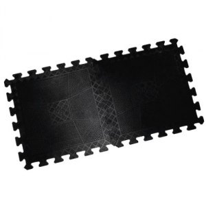 Коврик резиновый черный, толщина 20 мм MB Barbell MB-MatB1-20